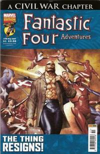 Cover Thumbnail for Fantastic Four Adventures (Panini UK, 2005 series) #51