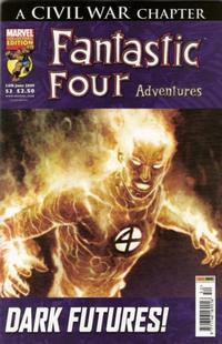 Cover Thumbnail for Fantastic Four Adventures (Panini UK, 2005 series) #52