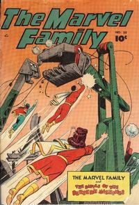 Cover Thumbnail for The Marvel Family (Anglo-American Publishing Company Limited, 1948 series) #35