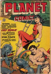 Cover Thumbnail for Planet Comics (Publications Services Limited, 1949 series) #1