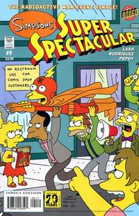 Cover Thumbnail for Bongo Comics Presents Simpsons Super Spectacular (Bongo, 2005 series) #9
