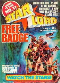 Cover Thumbnail for Starlord (IPC, 1978 series) #13th May 1978 (1)