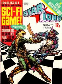 Cover Thumbnail for Starlord (IPC, 1978 series) #June 3rd 1978 [4]