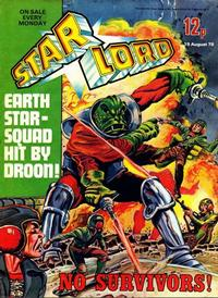 Cover Thumbnail for Starlord (IPC, 1978 series) #August 19th 1978 [15]