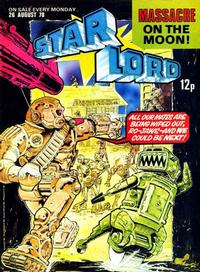 Cover Thumbnail for Starlord (IPC, 1978 series) #August 26th 1978 [16]