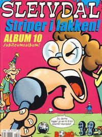 Cover for Sleivdal-album (Serieforlaget / Se-Bladene / Stabenfeldt, 1997 series) #10 - Striper i lakken!