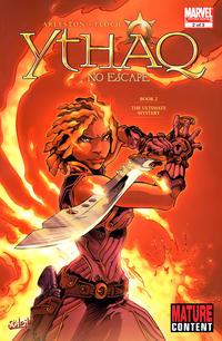 Cover for Ythaq: No Escape (Marvel, 2009 series) #2