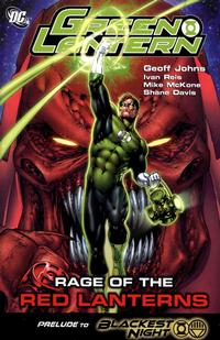 Cover Thumbnail for Green Lantern: Rage of the Red Lanterns (DC, 2009 series)