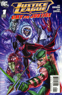 Cover Thumbnail for Justice League: Cry for Justice (DC, 2009 series) #1 [Left Side of Cover]