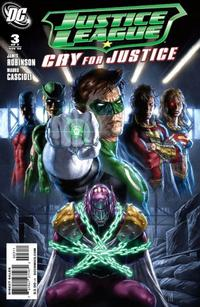 Cover Thumbnail for Justice League: Cry for Justice (DC, 2009 series) #3