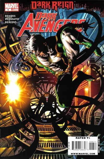 Cover for Dark Avengers (Marvel, 2009 series) #6