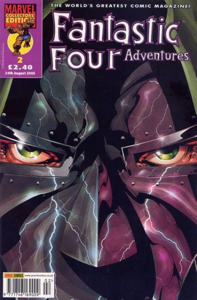 Cover for Fantastic Four Adventures (Panini UK, 2005 series) #2