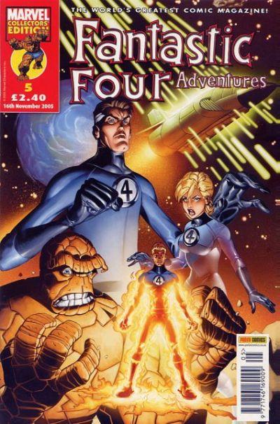 Cover for Fantastic Four Adventures (Panini UK, 2005 series) #5