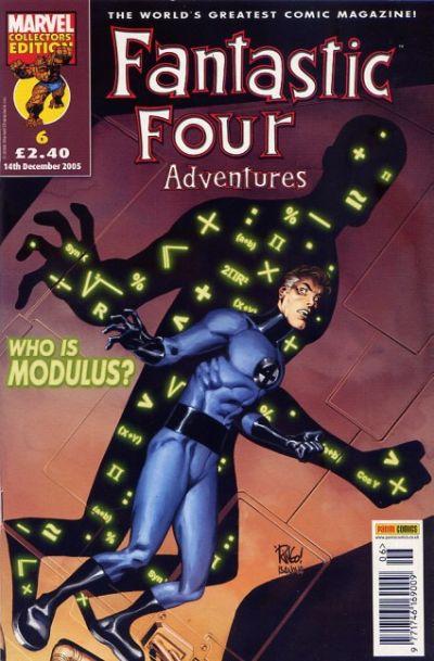 Cover for Fantastic Four Adventures (Panini UK, 2005 series) #6