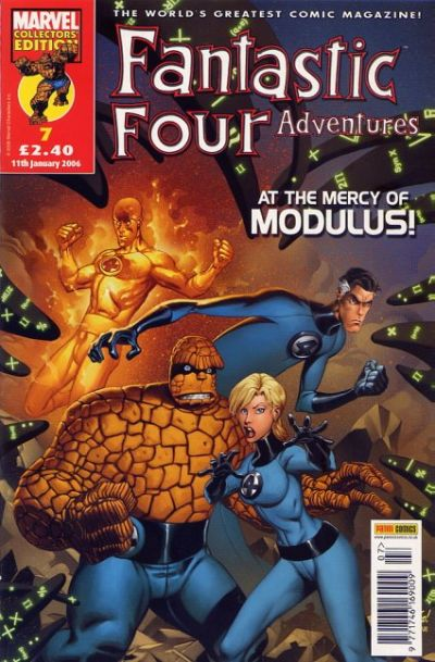 Cover for Fantastic Four Adventures (Panini UK, 2005 series) #7