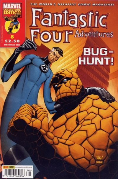 Cover for Fantastic Four Adventures (Panini UK, 2005 series) #8