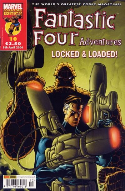 Cover for Fantastic Four Adventures (Panini UK, 2005 series) #10