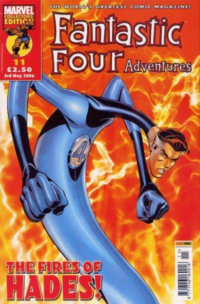 Cover for Fantastic Four Adventures (Panini UK, 2005 series) #11