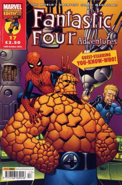 Cover for Fantastic Four Adventures (Panini UK, 2005 series) #17