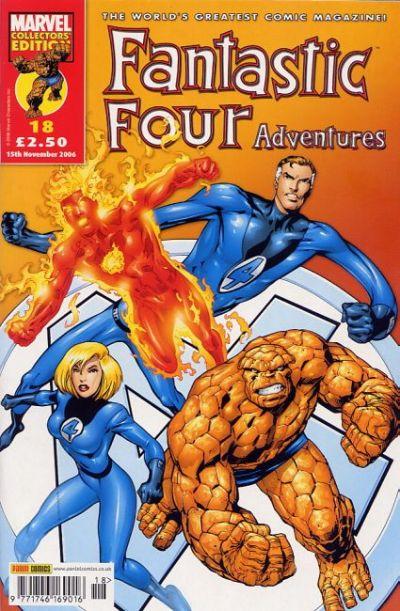 Cover for Fantastic Four Adventures (Panini UK, 2005 series) #18