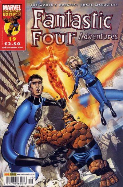 Cover for Fantastic Four Adventures (Panini UK, 2005 series) #19