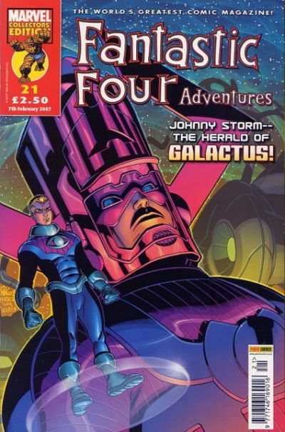 Cover for Fantastic Four Adventures (Panini UK, 2005 series) #21