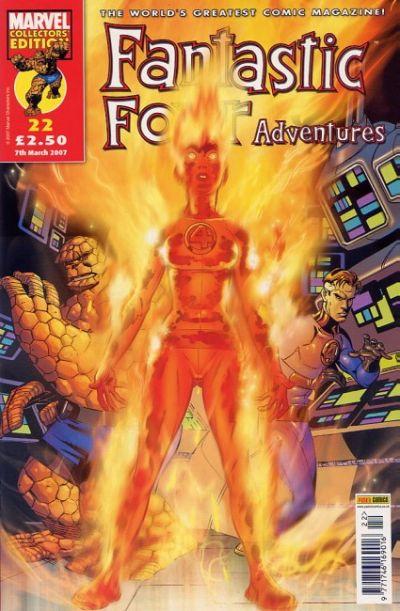 Cover for Fantastic Four Adventures (Panini UK, 2005 series) #22