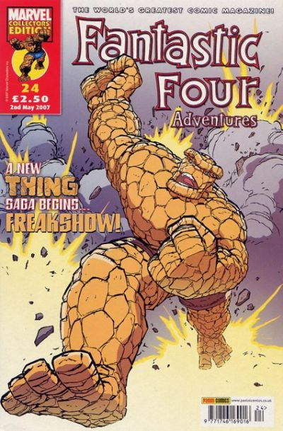 Cover for Fantastic Four Adventures (Panini UK, 2005 series) #24