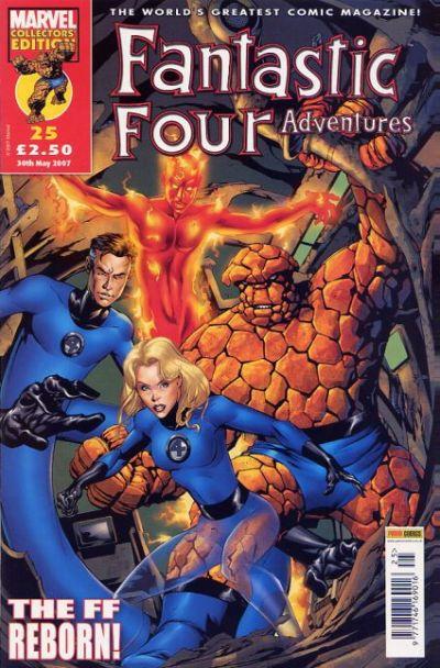 Cover for Fantastic Four Adventures (Panini UK, 2005 series) #25