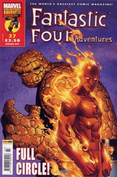 Cover for Fantastic Four Adventures (Panini UK, 2005 series) #27