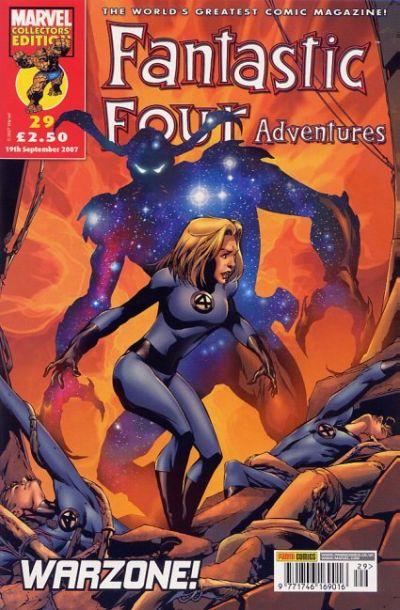 Cover for Fantastic Four Adventures (Panini UK, 2005 series) #29