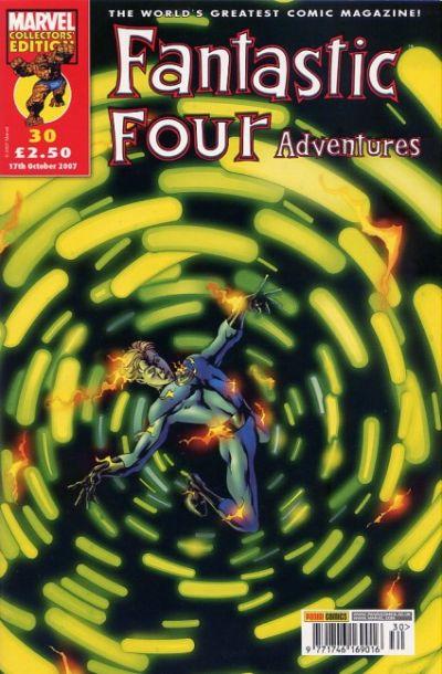 Cover for Fantastic Four Adventures (Panini UK, 2005 series) #30
