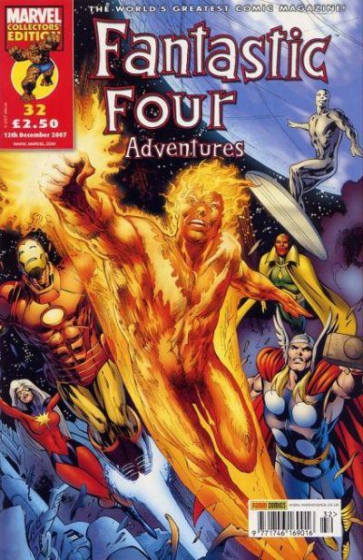 Cover for Fantastic Four Adventures (Panini UK, 2005 series) #32