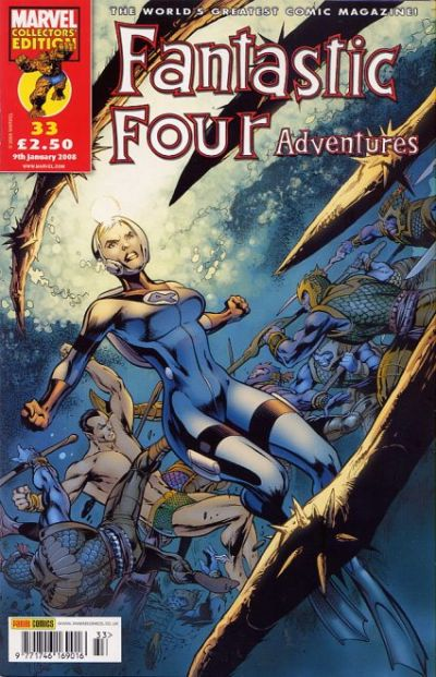 Cover for Fantastic Four Adventures (Panini UK, 2005 series) #33