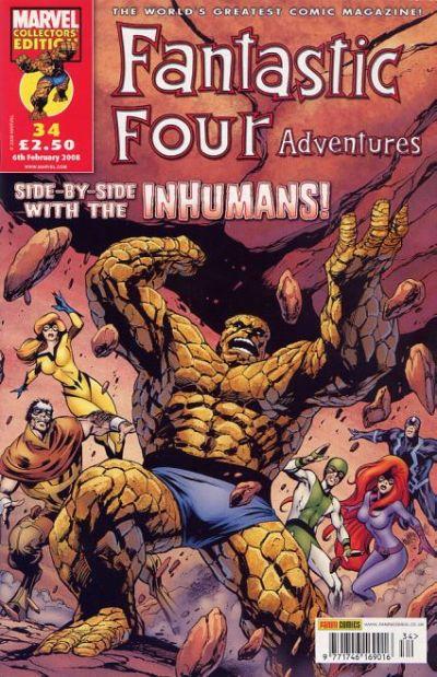 Cover for Fantastic Four Adventures (Panini UK, 2005 series) #34