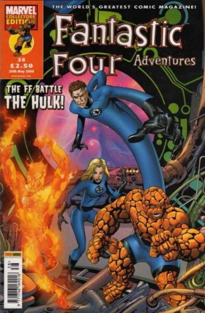 Cover for Fantastic Four Adventures (Panini UK, 2005 series) #38