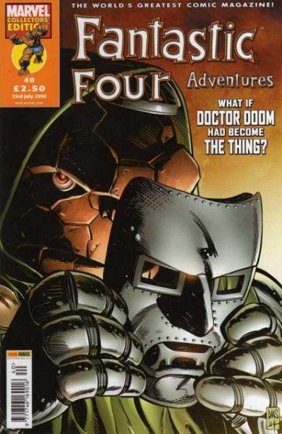 Cover for Fantastic Four Adventures (Panini UK, 2005 series) #40