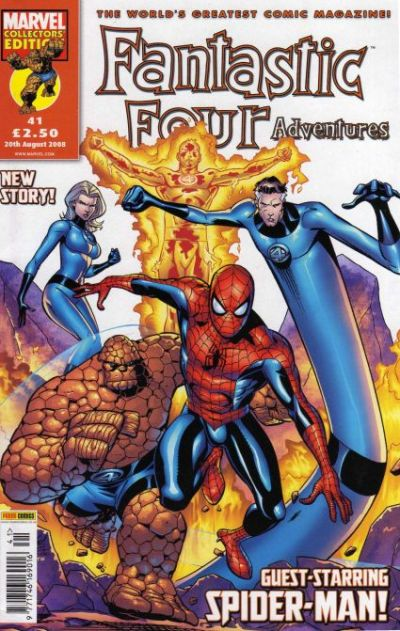 Cover for Fantastic Four Adventures (Panini UK, 2005 series) #41
