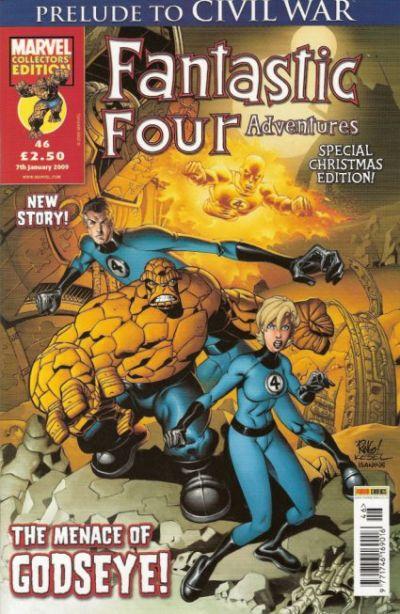 Cover for Fantastic Four Adventures (Panini UK, 2005 series) #46