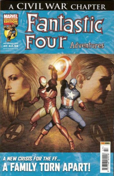 Cover for Fantastic Four Adventures (Panini UK, 2005 series) #47