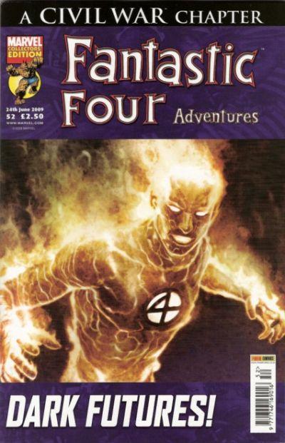 Cover for Fantastic Four Adventures (Panini UK, 2005 series) #52