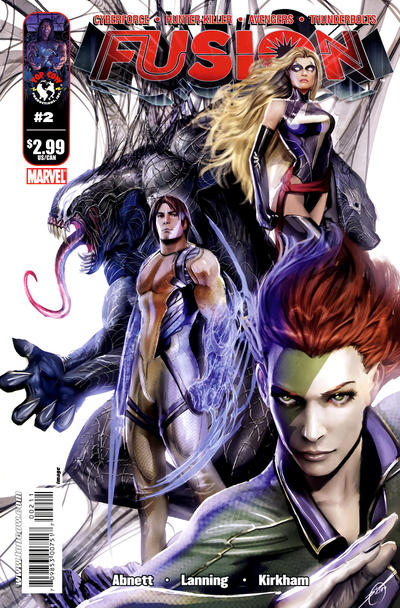 Cover for Fusion (Image, 2009 series) #2