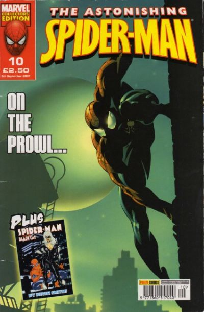 Cover for The Astonishing Spider-Man (Panini UK, 2007 series) #10
