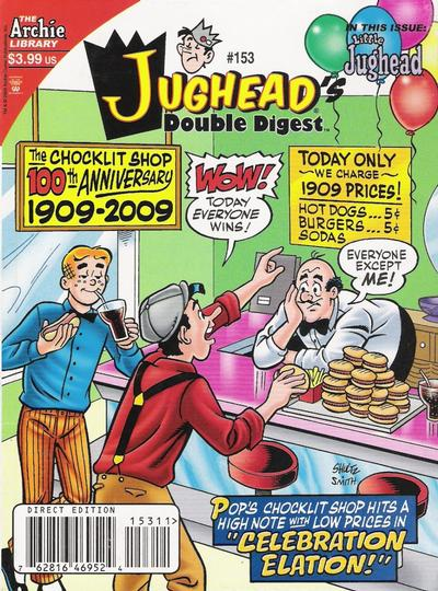 Cover for Jughead's Double Digest (Archie, 1989 series) #153