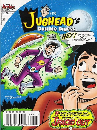 Cover for Jughead's Double Digest (Archie, 1989 series) #156 [Direct Edition]