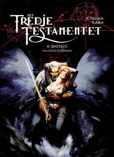 Cover for Det tredje testamentet (Albumförlaget Jonas Anderson, 2008 series) #2 - Matteus eller Ängelns ansikte