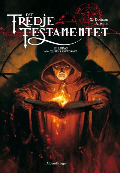 Cover for Det tredje testamentet (Albumförlaget Jonas Anderson, 2008 series) #3 - Lukas eller Tjurens andedräkt