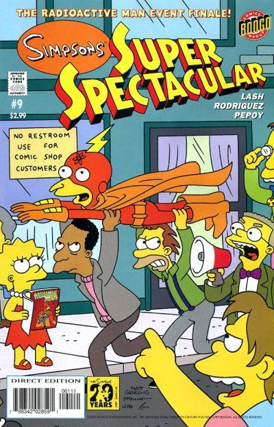 Cover for Bongo Comics Presents Simpsons Super Spectacular (Bongo, 2005 series) #9