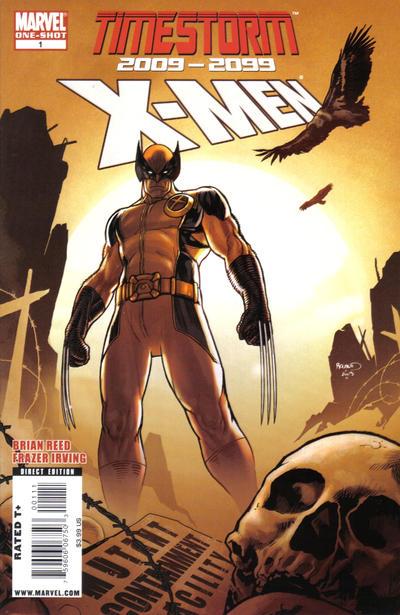 Cover for Timestorm 2009 / 2099: X-Men (Marvel, 2009 series) #1