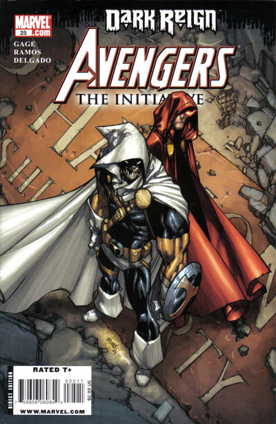 Cover for Avengers: The Initiative (Marvel, 2007 series) #25